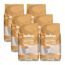 Lavazza Caffè Crema dolce, 1000g ganze Bohne 6er Pack