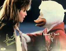 Lea Thompson Ed Gale autographed signed inscribed 11x14 Howard The Duck PSA COA