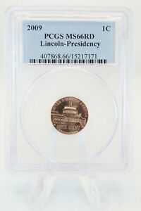 2009-P PCGS MS66RD Lincoln-Presidency Lincoln Cent Business Strike 1C