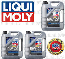 15-Liters Lubro Moly  MoS2 Antifriction Motor Oil 10W-40