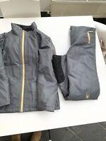 Spyder SKI SUIT- SKI JACKET - SKI TROUSERS Girls Size 16 Lady Size Xs . Silver