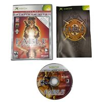 Fable: The Lost Chapters Platinum Hits Microsoft Xbox 2005 CIB Complete MINT