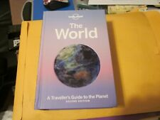 Lonely Planet the World : A Traveller's Guide to the Planet, Hardcover FREE SHIP