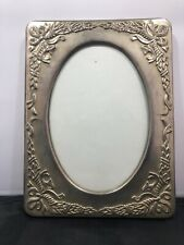 Vintage Silver Plated Embossed Photo Picture Frame