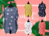NEW Ladies Italian POLKA DOT Print Baggy LINEN Womens Dress Lagenlook TUNIC Top