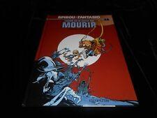 Morvan / Munuera : Spirou et Fantasio 48 : L'homme qui ne voulait pas mourir