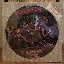 Exodus Rare 1987 Picture Disc Pleasures of Flesh Limited Press Combat Records