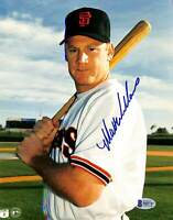 Giants Matt Williams Authentic Signed 8x10 Photo Autographed BAS 4