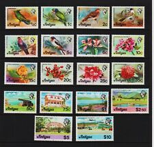 Antigua - 1978 Birds and Flowers set, Mint, NH