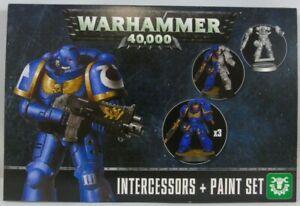 Warhammer 40,000 60-11 Intergessors & Paint Sheet