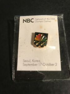 NBC NETWORK OF THE 1988 OLYMPIC GAMES SEOUL, KOREA PIN