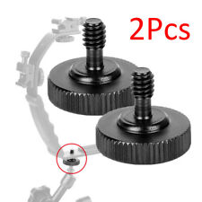 Thumb Screw Camera 1/4 inch Black For Tripod Mount Plate Practical Convenient