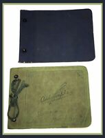 Antique Autograph Books - Set Of 2 - Years 1933-1939 (R558)