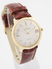 Seltener Jaeger-LeCoultre Automatic Herrenuhr Chronometer, 18ct Gold, 1950s