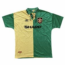 1992 94 Manchester United Away Football Shirt Xl Classic Original Authentic Vtg