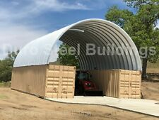 Durospan Steel 21x20x10 Metal Building Conex Container Box Roof Kit Cover Direct