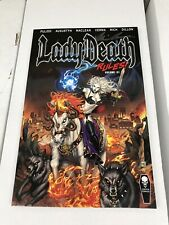 Coffin Comics Lady Death Rules! Vol. 1 Trade Paper Back - SIGNED by BRIAN PULIDO