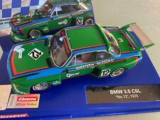 "Carrera Digital 132 30897 20030897 BMW 3,5 CSL ""No. 12"", 1976 NEU OVP"