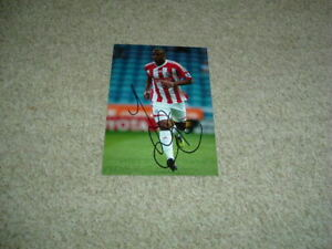 TOM SOARES - STOKE CITY - SIGNED 6 X 4 PHOTOGRAPH