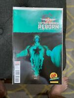 CAPTAIN AMERICA REBORN 1 DF Exclusive Variant Cover Dynamic Forces Marvel 2009