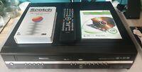 Toshiba RD-XV47KTB VHS DVD Recorder 160Gb HDD VCR Combi Copy VHS to DVD & Remote