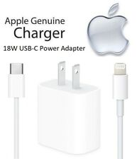 Apple iPhone 11 Pro Max - 18W USB-C Fast Charging Power Adapter & Cable (A1720)
