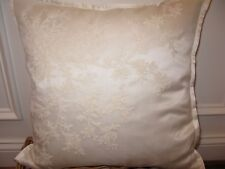 Ralph Lauren SAINT HONORE Shadow Cream Silk Throw Pillow $185