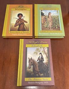 Lot 3 The Royal Diaries Hardcover - 1595 Nzingha 1653 Weetamoo - 1853 Elisabeth
