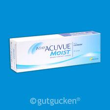 1-Day Acuvue Moist 2 x 30 sphärische Kontaktlinsen Tageslinsen Johnson & Johnson
