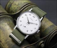 New Old Stock CELIER Army Bewegung Unitas 6376 vintage Uhren NOS military style