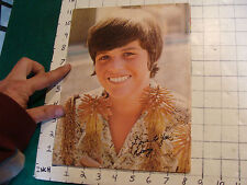 Donny Osmond Poster: young Donny single sheet, removed from mag