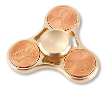 Tri Fidget Spinner Premium Alloy  Penny Hand Spinner, Stress Relief Focus Toy