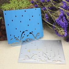Raindrop Frame Metal Cutting Dies Stencils DIY Scrapbooking Album Paper Craft