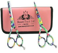 "5.5"" Hairdressing Scissor Thinning Shears - Hair Cutting Professional Barber Set"