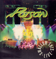 """POISON """" SMALLOW THIS LIVE """" LP NUOVO CAPITOL - EMI ITALY 1991"""