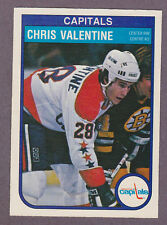 1982-83 O-Pee-Chee OPC Hockey Chris Valentine #373 Washington Capitals NM/MT