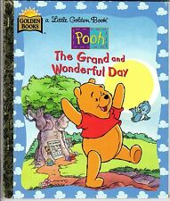 1997 Little Golden Book, Pooh, The Grand & Wonderful Day by Mary Packard