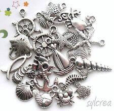 10 Breloques /_ ÉTOILE Just for you 14X12mm /_ Perles charms création bijoux /_B083