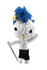 NEW Spock The Punk Charm YooDara Wisdom Tribe Yarn Doll Key Chain