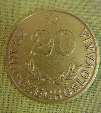Medaille - Prag - CSSR - 20 Jahre Technoexport - 1953 - 1973 - im Etui