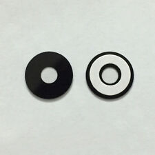 New Black Back Rear Camera Glass Lens Cover With Adhesive Sticker For HTC One E9