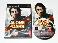 Alone In The Dark Playstation 2 Game PS2 2008 Complete