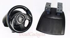 Precision Racing Wheel & Pedals | Microsoft USB Sindwinder X04-74734 / X04-74735