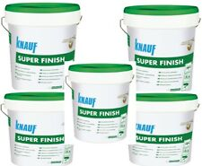 5 x Knauf Super Finish 28 kg Spachtelmasse SHEETROCK Fertigspachtelmasse