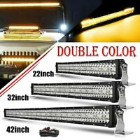 "22"" 32"" 42"" 50"" Strobe Led Light Bar Offroad Flash Work Light 4x4 for ATV SUV"