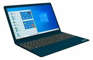 """15.6"""" 1080p Intel i7  8GB RAM 256GB SSD Windows 10 EVOO Ultra Thin Notebook Blue"""