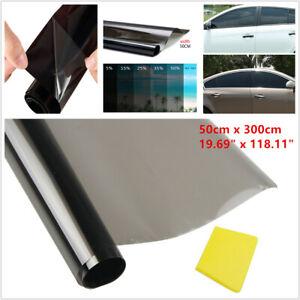 50CM 35% Vehicle Window Tint Solar Film Car Explosion Proof Heat Membrane Darken