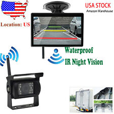 "DIGITAL WIRELESS REAR VIEW BACKUP CAMERA SYSTEM 5"" LCD FOR RV CAMPER TRAILER"