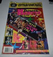 Power heroes & villians Power Rangers 1994 special Vintage Magazine