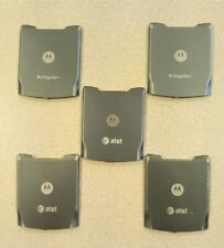Lot Of 5 Oem Motorola Razor Razr V3Xx Gsm Battery Back Door G(Good Used)